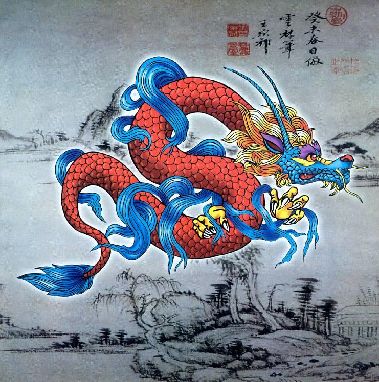 почему символом китая является дракон