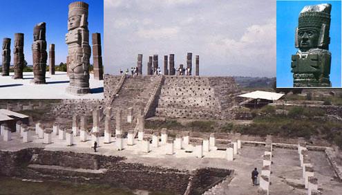 Храм Кецалькоатля в Туле